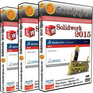Solidworks 2015 Görsel Eğitim Seti 52 saat
