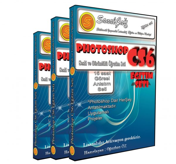 Photoshop CS6 Görsel Eğitim Seti